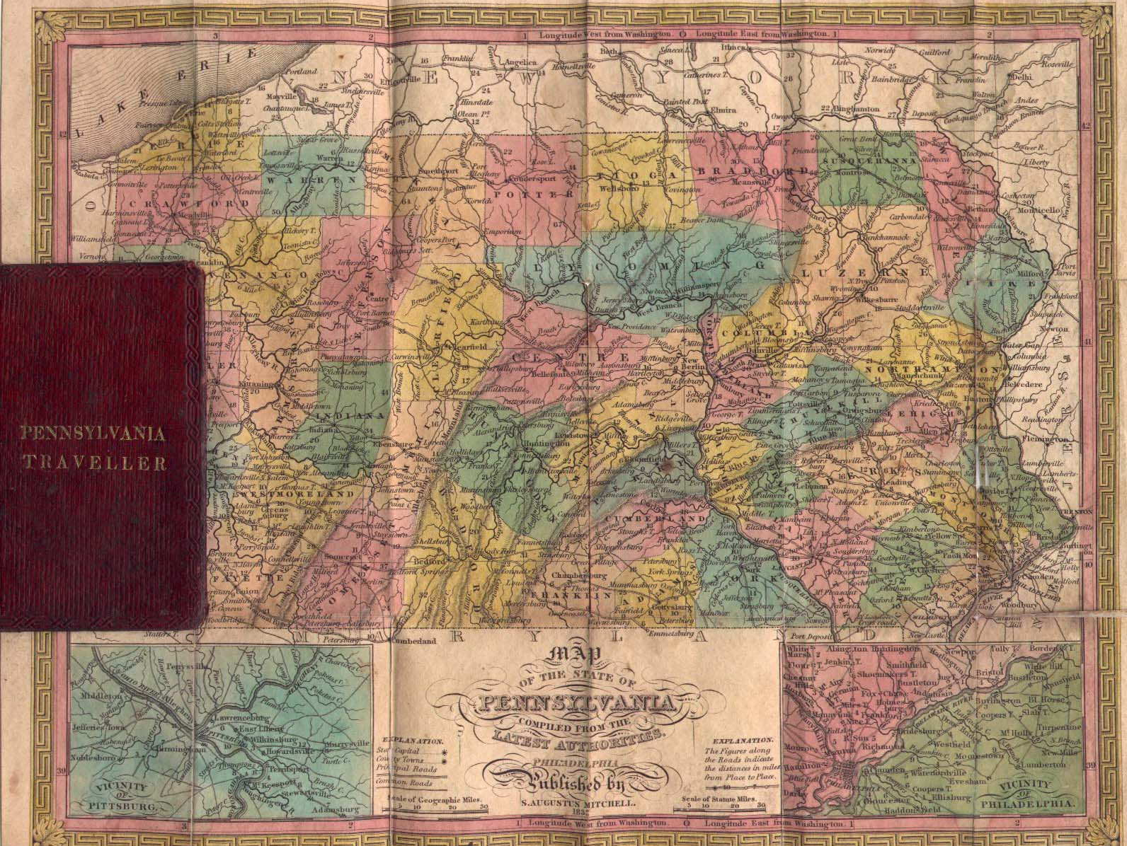 Historical Maps Of Pennsylvania - Maps of pa